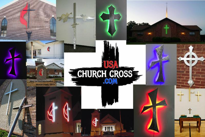 Custom Church crosses with or without LED lighting, church cross,church crosses,LED cross, LED crosses,Large cross,church sign,church signs