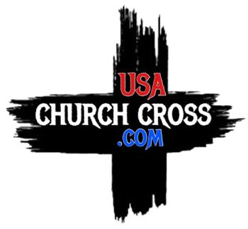 Usa Church Cross